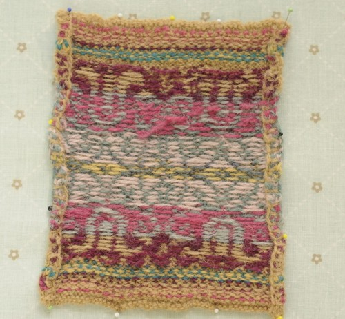 Free Fair Isle Knit Purse Pattern