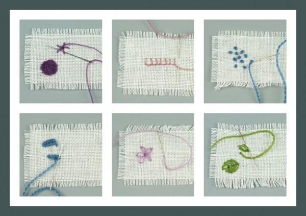 Hand embroidery stitches guide pixshark images