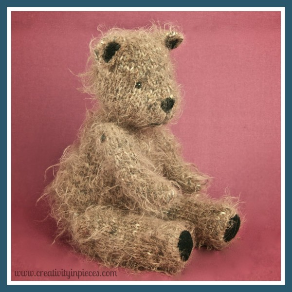 Knit Bear Pattern : How to make a Teddy Bear - Knitting 101