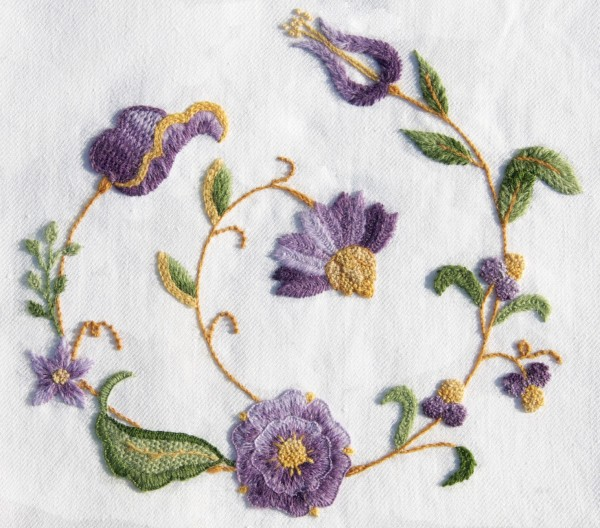What Is Crewel Embroidery Learn With Me