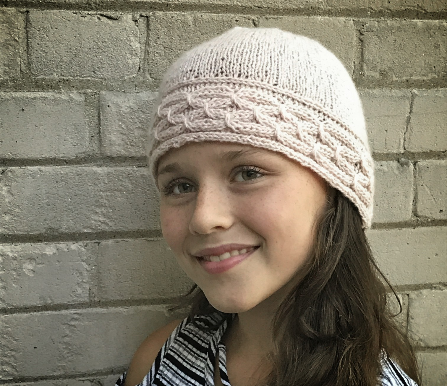 Knit Hat Tutorial - Smocked Brim with Easy to Modify Design ...